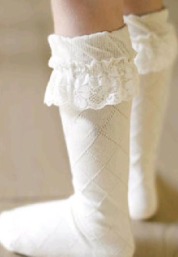 Little Girls Socks Cotton Socks 2 8t Kid Boots Stockings Two ...