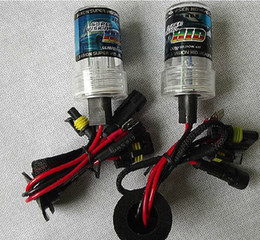 Wholesale Pink Hid Bulbs - HID light 9006 HB4 colorful bulbs yellow green blue pink purple color light lamp 9006 HB4