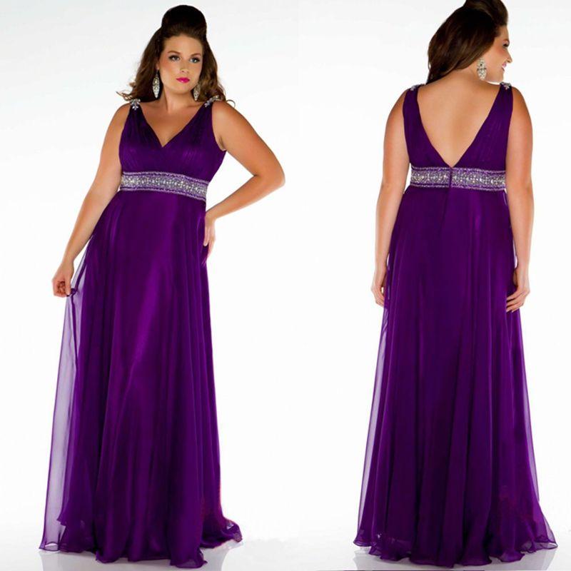 plus size bridesmaid dress formal evening dresses purple party