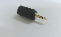"Gold plated 2. 5mm Stereo male plug to 3. 5mm 1 8"" Stereo..."