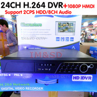 Wholesale H 264 Network Dvr Price - Wholesale-Ultra Low Price 24 Channel H.264 CCTV Standalone DVR network 24 CH DVR recorder with HDMI output Free DDNS, Free shipping