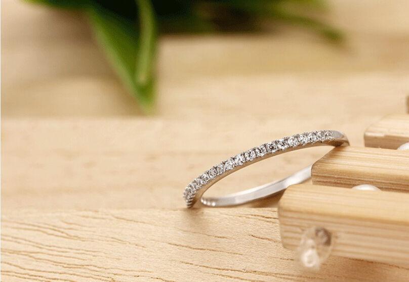 Taglia 4-8 Gioielli Soild 925 Sterling Silver Multi Rubino / topazio bianco / Ametista CZ Diamond Wedding Women Gemstones Anello amante regalo