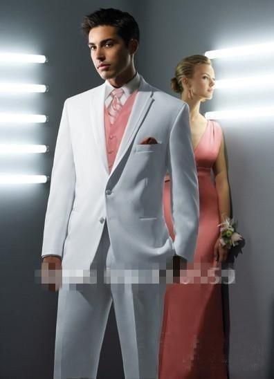 Custom Made High Quality New Style Suits Formal Groom Tuxedo For ...