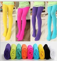 Wholesale Girls Opaque Tights - Girls Tights Pantyhose Leggings Stockings Opaque Colour Girls' Velvet Pantyhose Girl Tights Cute Leggings Girl Socks 7930 B2879