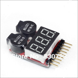 $enCountryForm.capitalKeyWord Canada - 1-8S Lipo Li-ion Fe RC helicopter airplane boat etc Battery Voltage 2 IN1 Tester Low Voltage Buzzer Alarm