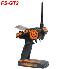 Wholesale Electric Rc Trucks Boats - 2.4G FS-GT2 2CH Radio Model RC Transmitter with Receiver For RC Car Truck Boat