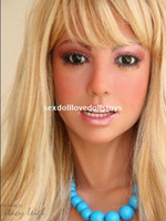 Wholesale discounted silicone love dolls online - Factory Oral sex doll discount half silicone love doll sex men love dolls drop ship adult sex toy free gifts love doll for men japan