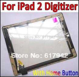 100% Nouvel Écran Tactile Pour iPad 2 Écran Tactile Digitizer Écran Tactile Remplacement Pré-assemblé avec Support À La Maison Bouton Caméra ? partir de fabricateur