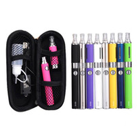 Wholesale Evod Tank Clearomizer - Evod MT3 Single Starter E-cigarette kit MT3 tanks BBC EVOD atomizer Clearomizer 650mah 900mah 1100mah Evod battery ego cigarette kit DHL