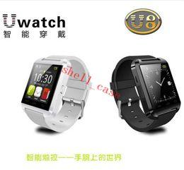 $enCountryForm.capitalKeyWord Canada - Bluetooth Smartwatch U8 U Watch Smart Watch Wrist Watches for iPhone 4 5 6 plus Samsung S4 S5 Note2 Note3 HTC Android Smartphones
