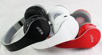 Wholesale Dj Headphones Performance Black - 2015 New Wireless Headphone Bluetooth DJ Headphones Noise cancelling High Performance Over Headphones with BOX Sealed BT-528 DHL EMS Free