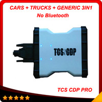 Wholesale Korea Tops Design - 2015 Newly design tcs cdp 2014.2 keygen as gift new version auto tcs cdp pro for trucks and cars Top seling In stock