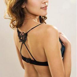 bretelles croisées Promotion Mode Chaude Sexy Croix De La Mode Soutien-Gorge Bretelles Dentelle Papillon Soutien Épaule Bretelles Nécessaire D'été