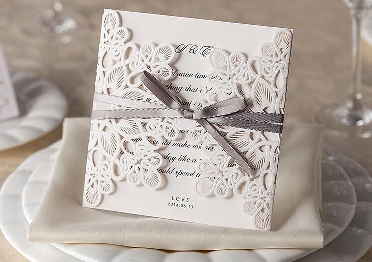 Pocketfold Wedding Invitations Wholesale: New Wedding Party Laser Invitation Cards Printable And