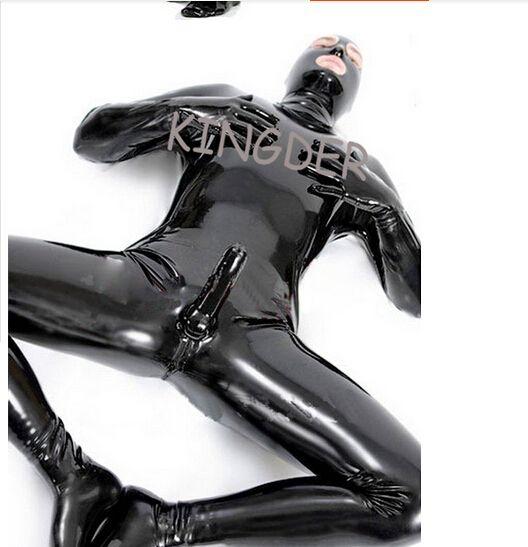 suit porn tight Skin