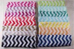 Wholesale Sheer Scarves Wholesale - Hot Sale ! 5 pcs Cotton Cantina Soft Chevron Sheer Infinity Scarf in Contrasting Colors (z239)