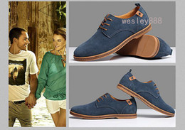 Wholesale Okko Shoes - Wholesale - Plus size summer okko mens casual shoes suede leather breathable skateboard shoes falts heel causal sneaerks Size 37-47