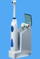 ingrosso set di igiene all'ingrosso-Spedizione gratuita igiene orale Dental Care induttivo di ricarica Spazzolino elettrico Acqua sensore rotante / adulto / bambino Spazzolino da denti