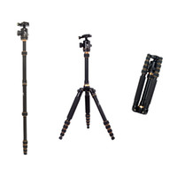 Wholesale Slr Pro Digital Cameras - BEIKE BK-777 Professional Magnesium & Aluminum Pro Stand Tripod Monopod Ball Head for SLR Camera Travel Changeable Max load to 15kg D1119