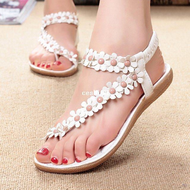 7725a09b5600 Retail Flip-flop Sandals Flip Women s Shoes Flat Flats Bohemia ...