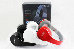Wholesale Dj Headphones Black High Performance - 2015 New BT-528 Foldable Gaming Studio Noise Cancelling High Performance Headphone Headset Bass Wireless Bluetooth DJ Headsets microphone