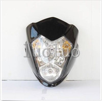 Wholesale Streetfighter Bike - Streetfighter Headlight Raider Black Street Fighter Bike Racing Front Motorcycle