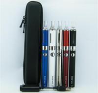 evod twist starter achat en gros de-EVOD Twist Cigarette électronique eGo-C Twist MT3 Starter Kit avec mini-étui à fermeture à glissière 650mah 900mah 1100mah 3.2-4.8V