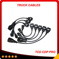Wholesale Tcs Cdp Pro Plus - New full set 8 cables cdp tuck cables tcs CDP pro plus auto truck cables best price and best quality