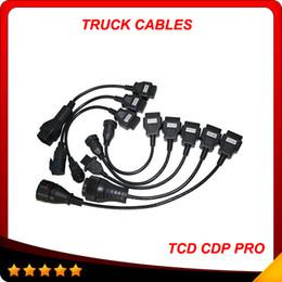 Venta al por mayor de Nuevo juego completo 8 cables cdp cables tcs CDP pro plus auto cables para camiones mejor precio y mejor calidad