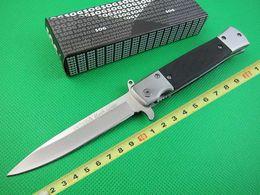 лучшие ножи для выживания на открытом воздухе Скидка SOG KS931A горячий открытый кемпинг выживания складной нож охотничьи ножи лучший подарок ремесло ножи 5CR13 56HRC 150 г образец бесплатная доставка ч