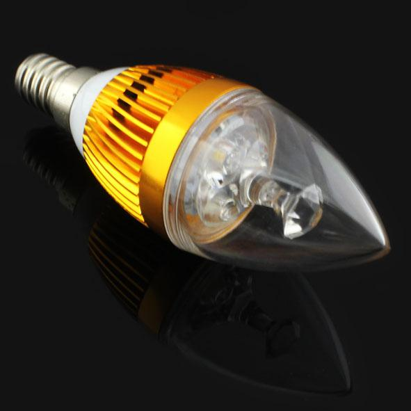1Xfree shipping high power Epistar Dimmable 9W 15W E27 e14 LED Candle Bulbs Light Sliver Golden CE&ROHS Warm Cool White