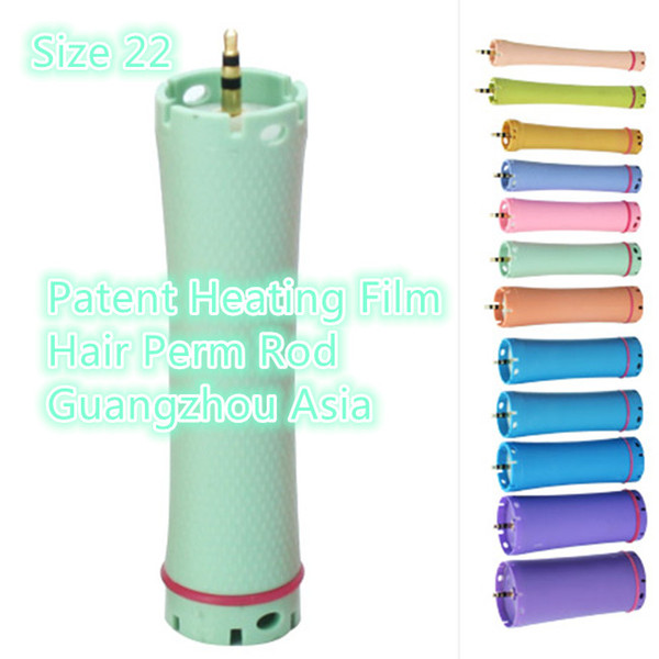 2017 Factory Directly Selling, Patent Heating Film Hair Culer, Hair Perm Rod, Headset Edition, Size 22