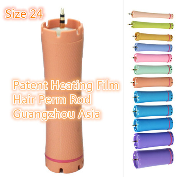 2017 Factory Directly Selling, Patent Heating Film Hair Culer, Hair Perm Rod, Headset Edition, Size 24