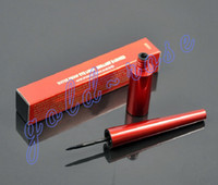 Wholesale Wholesale Waterproof Eyeliner - Hot Makeup Eyeliner Red Waterproof Eyeliner Liquide Black 10ML Waterproof +GIFT