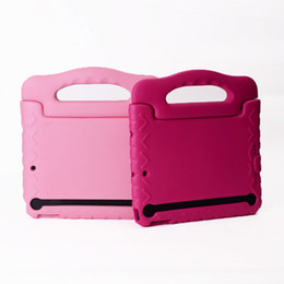 Wholesale Thick Foam For Case - Kids Safe Thick Foam Shock Proof EVA Case Handle Cover Stand for ipad mini123 ipad 234 air air2 6