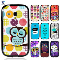 Wholesale Galaxy S3 Mini Pc Case - Okay The Fault in Our Star Cute Owl Case For s3 mini Case okay for samsung galaxy s3mini i8190 Cover Soft TPU+Hard PC Hybrid With Free Gift