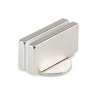 Wholesale strong block magnets - Hot sale Free shipping 2pcs Strong Block Magnets Cuboid 40x20x5mm N50 Neodymium Magnet Rare Earth