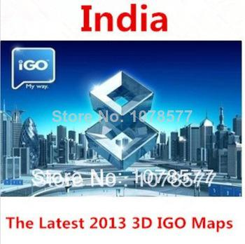 IGO gps maps 2018 India Maps For Android or Wince system or Android system  GPS