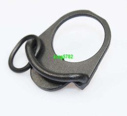 Wholesale M4 Mount Sling - Airsoft Paintball War game AR15 M4 16 GBB End Plate Sling Adapter Mount Hunting Gun Accessories