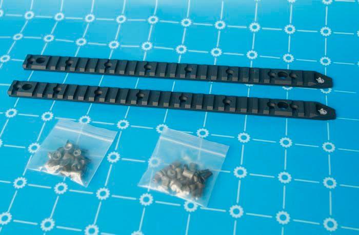 Full Rail Panel - KeyMod Für AIRSOFT URX4 13 und 14,5 Zoll Rail BK / TAN KOSTENLOSER VERSAND