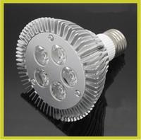 ampoule 5x3w achat en gros de-Garantie 2 ans + E27 E26 PAR20 PAR30 PAR38 ampoules à LED lumière 15W 5X3W Dimmable 110V 220V blanc chaud / pur / cool spot LED