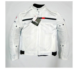 Wholesale White Black Jackets Motorcycle - 2015 New arrival Summer mesh Motorbike riding clothing automobile cycling clothes motorcycle jacket MOTO Racing jackets 2 colors