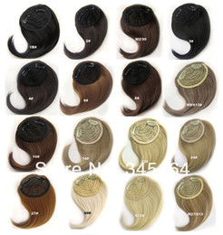 Wholesale Bangs Hair Extension - Free Shipping front bang hair bang extension clip in hair bang synthetic hair bang hair fringe
