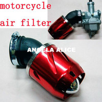 Wholesale Motorbike Air Cleaner For Pit BikeMotorcycle Parts MM Alloy Motorcycle Air Filters cc GY6 Scooter Dirt Bike