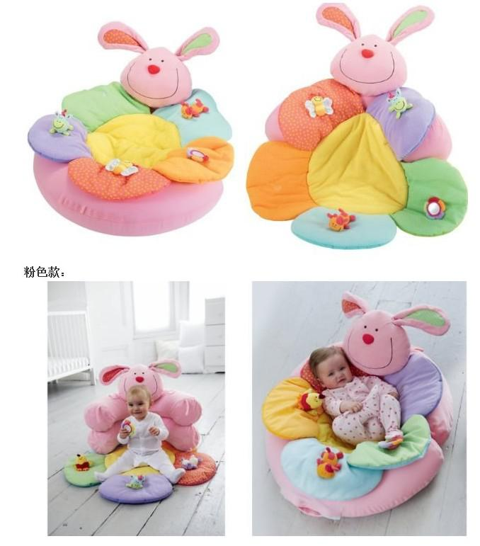 - Blue Color ELC Blossom Farm Sit Me Up Cosy- Baby Play Mat Nest Infant Seat Inflatable Sofa Kid's Toy,for options