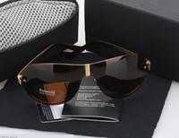 Wholesale Box Car Sun - 2014 new fashion car brand sunglasses desinger men polarized sunglasses driving sun glasses with brand box Free Shipping