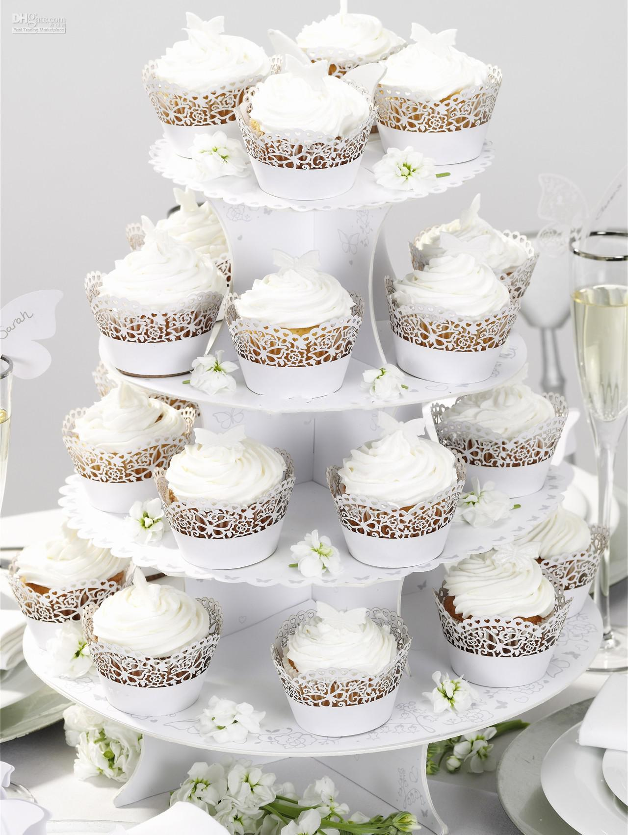 New 2014 Laser Cut Filigree Cupcake Wrapper Around The Edges Cake Liners Decorating Box For Wedding Baby Shown Favor Supplies 200 Design