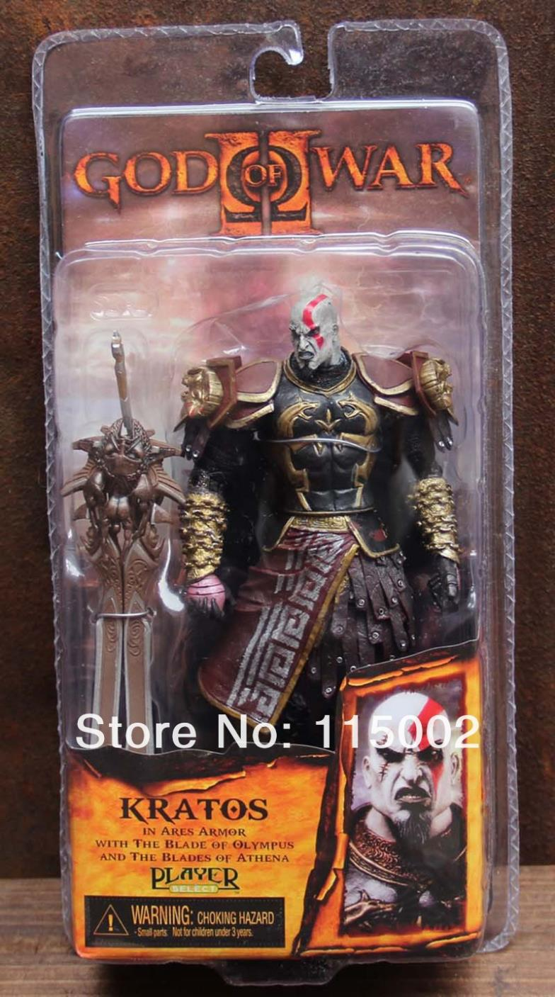 7 Neca God Of War 2 Ii Kratos In Ares Armor W Blades Pvc Action Figure Toy Doll Chritmas Gift Hot Retail From Drawnsuntech 17 89 Dhgate Com
