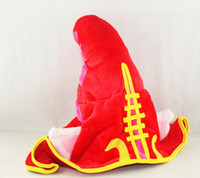 Wholesale League Legend Lulu Hat - LOL hat League of Legends LOL Faery Witch Lulu Cosplay Hat plush cap Cosplay Hat