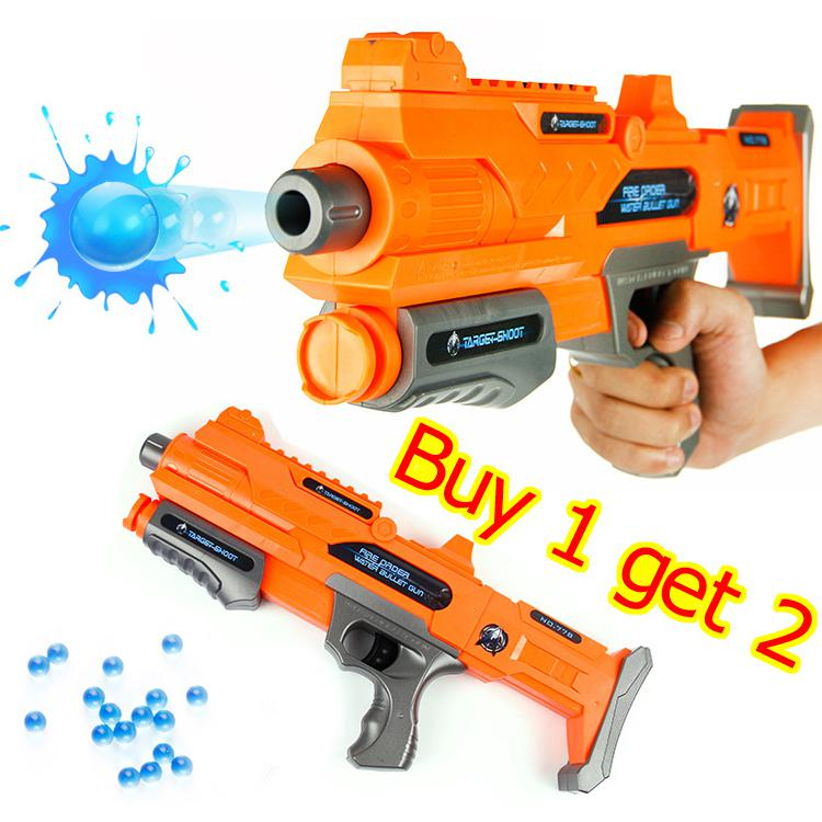 nerf pneumatic water soft bullet blaster toy guns No danger ABS pvc plastic  classic toys for child kids Free shippin buy 1 get 2